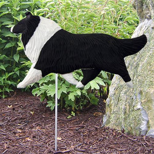 Collie Garden Stake - Michael Park, Woodcarver