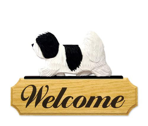 Coton de Tulear DIG Welcome Sign
