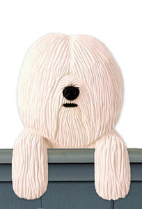 Coton de Tulear Door Topper