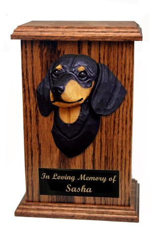 Dachshund (Smooth) Memorial Urn
