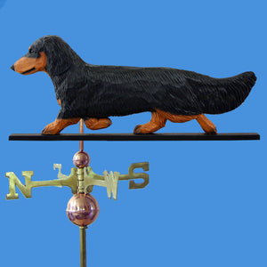 Dachshund (Longhaired) Weathervane - Michael Park, Woodcarver
