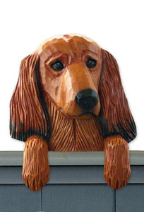 Dachshund (longhaired) Door Topper