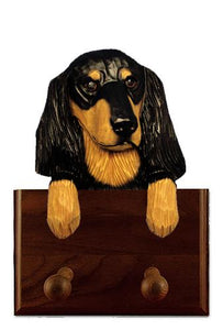 Dachshund (longhaired) Leash Holder