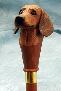 Dachshund Walking Stick
