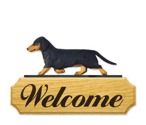Dachshund DIG Welcome Sign