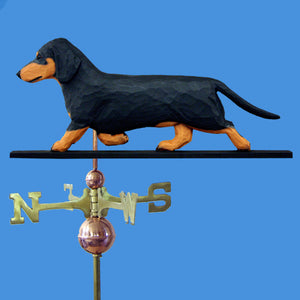 Dachshund (Smooth) Weathervane - Michael Park, Woodcarver