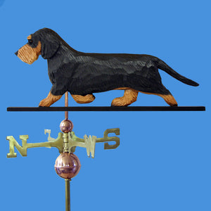 Dachshund (Wirehaired) Weathervane - Michael Park, Woodcarver
