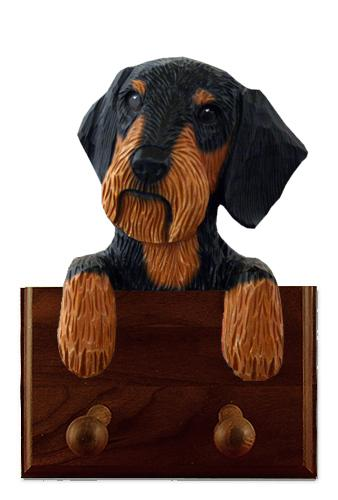 Dachshund (Wirehaired) Leash Holder