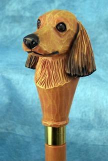 Dachshund (longhaired) Walking Stick