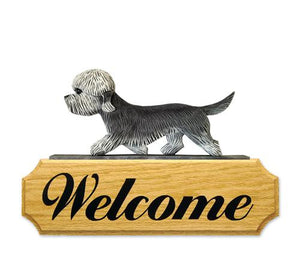 Dandie Dinmont DIG Welcome Sign