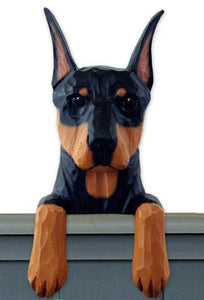 Doberman Door Topper