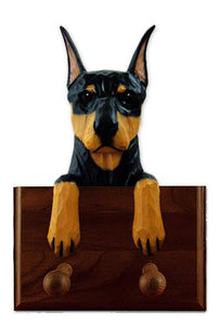 Doberman Leash Holder
