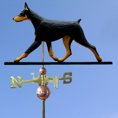 Doberman Weathervane - Michael Park, Woodcarver