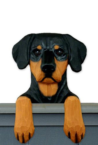Doberman (Natural) Door Topper
