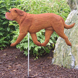 Dogue de Bordeaux Garden Stake
