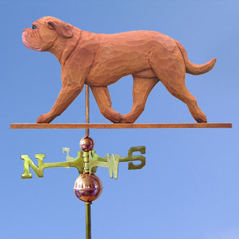 Dogue de Bordeaux Weathervane - Michael Park, Woodcarver