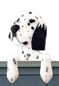 English Setter Door Topper