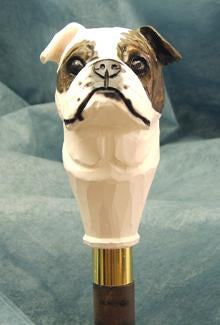 English Bulldog Walking Stick