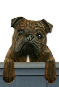 English Bulldog Door Topper