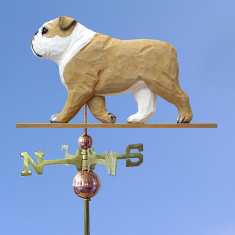 English Bulldog Weathervane - Michael Park, Woodcarver