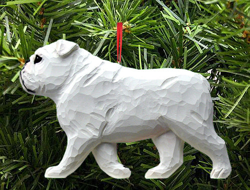 English Bulldog DIG Ornament