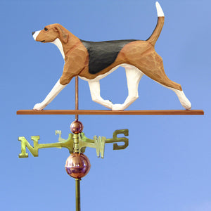 English Foxhound Weathervane - Michael Park, Woodcarver