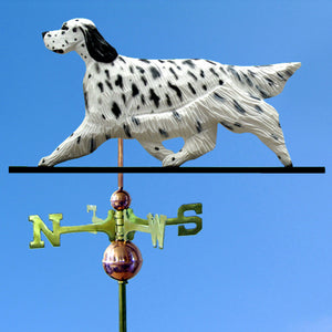 English Setter Weathervane - Michael Park, Woodcarver