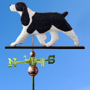 English Springer Spaniel Weathervane - Michael Park, Woodcarver