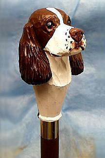 English Springer Spaniel Walking Stick