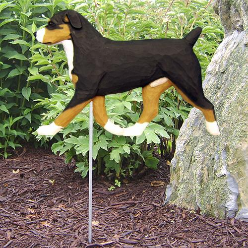 Entlebucher Mt. Dog Garden Stake