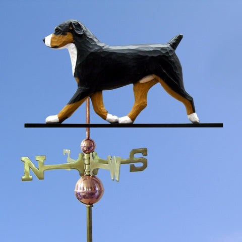Entlebucher Mt. Dog Weathervane - Michael Park, Woodcarver