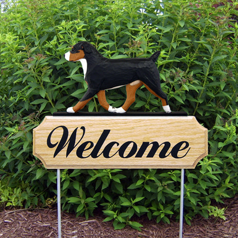 Entlebucher Mt. Dog DIG Welcome Stake