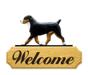 Entlebucher Mt. Dog DIG Welcome Sign