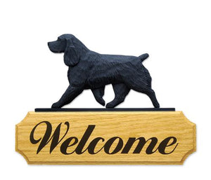 Field Spaniel DIG Welcome Sign