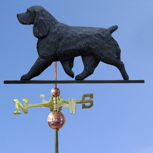 Field Spaniel Weathervane - Michael Park, Woodcarver