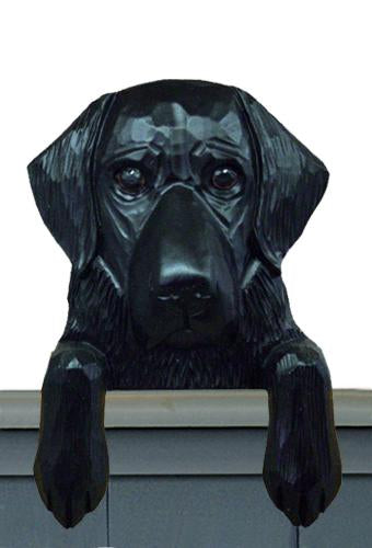 Flat-coated Retriever Door Topper