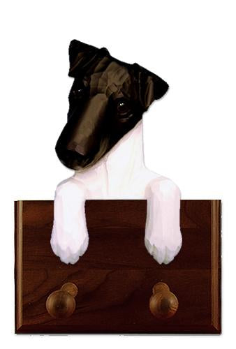 Fox Terrier (Smooth) Leash Holder