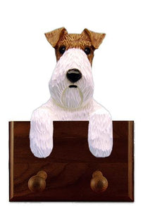 Fox Terrier (Wire) Leash Holder