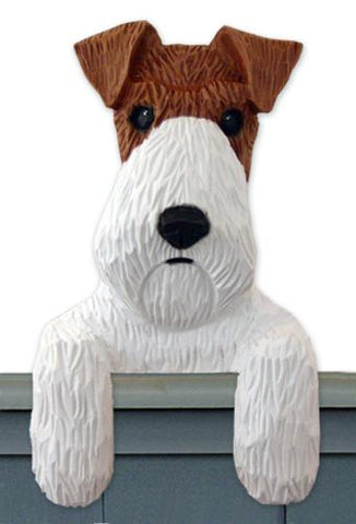 Fox Terrier (Wire) Door Topper