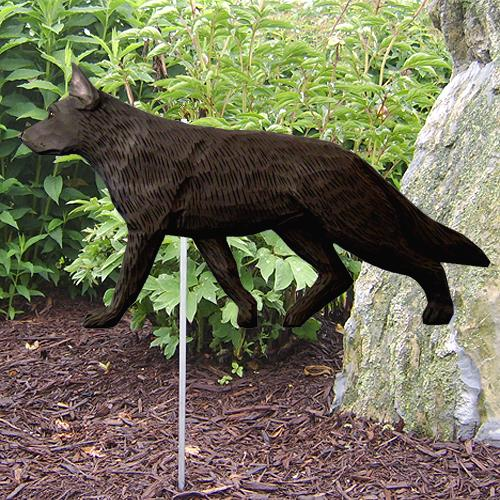 German Shepherd Garden Stake