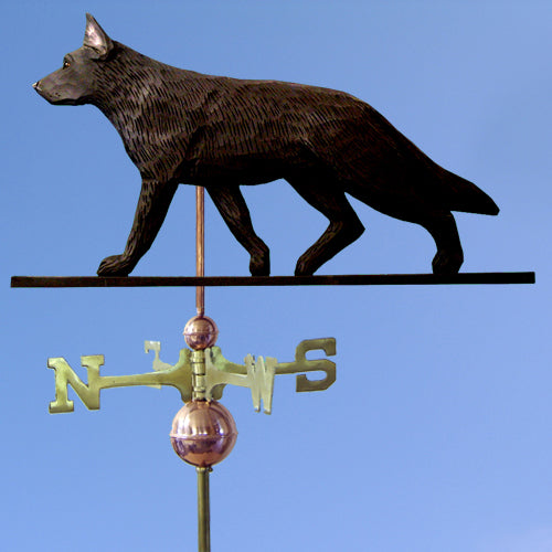 German Shepherd Weathervane - Michael Park, Woodcarver
