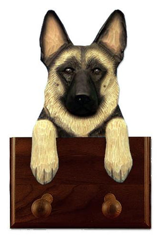 German Shepherd Leash Holder