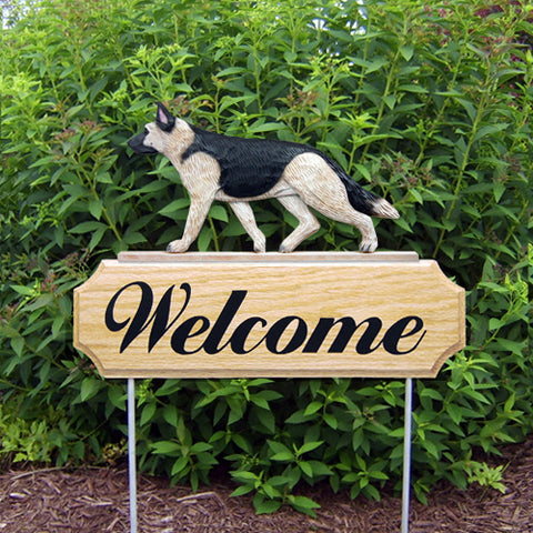 German Shepherd DIG Welcome Stake