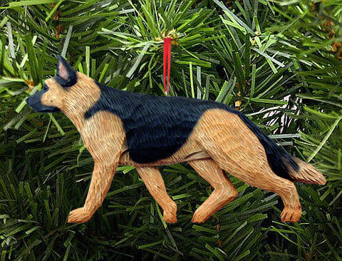 German Shepherd DIG Ornament