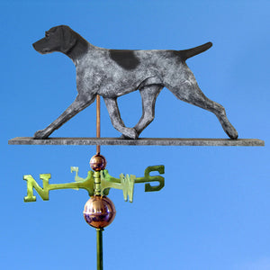German Shorthaired Pointer Weathervane - Michael Park, Woodcarver