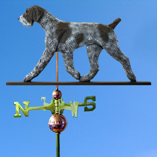 German Wirehaired Pointer Weathervane - Michael Park, Woodcarver