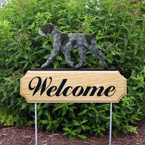 German Wirehaired Pointer DIG Welcome Stake