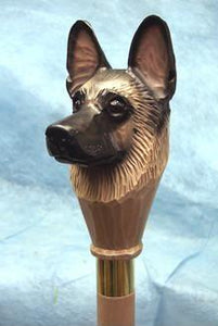 German Shepherd Walking Stick
