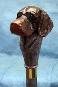 German Shorthaired Pointer Walking Stick