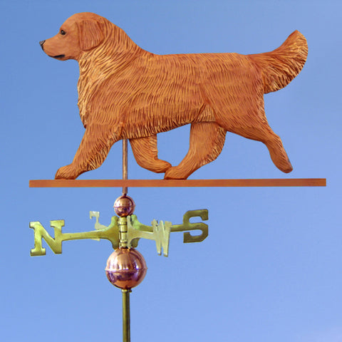 Golden Retriever Weathervane - Michael Park, Woodcarver